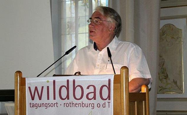 Vortrag von Wolf Stegemann auf der Tagung Rothenburg in Krieg und Friedenz