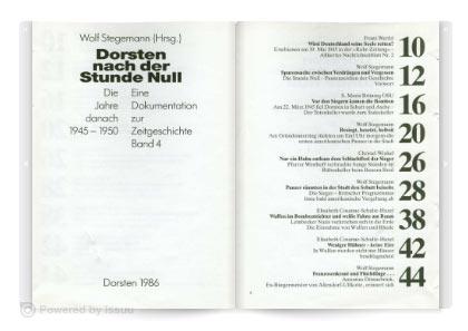 Dorsten unterm Hakenkreuz - Band 4