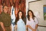 Die Preisträgerinnen der Motzkin-ORT-Schule in Haifa