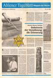 Bericht im Ahlener Tageblatt