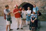Israel-Reise des Freundeskreises; D. Frenzel, W. Stegemann, G. Mai, P. Somberg-Romanski, Ulla Brüggemann, P. Mai, B. Stegemann-Czurda