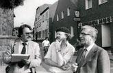Reportage vor Ort in Lembeck mit Raum- und Stadtplaner Egbert Bremen und dem Leiter des Stadtplanungsamtes E. Burmeister