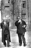 Mit Stadtdirektor Dr. Zahn in Auschwitz 1994