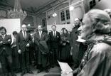 Ausstellungseröffnung in Straßburg 1990