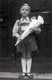Einschulung, Rothenburg 1950
