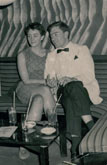 Mit Christine im Whiskey-a-go-go-Club, Istanbul 1967